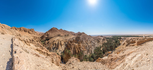 Chebika Oasis in Tozeur, Tunisia - Buy this stock photo and ...