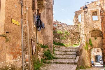Medieval town of Artena, Lazio, Italy