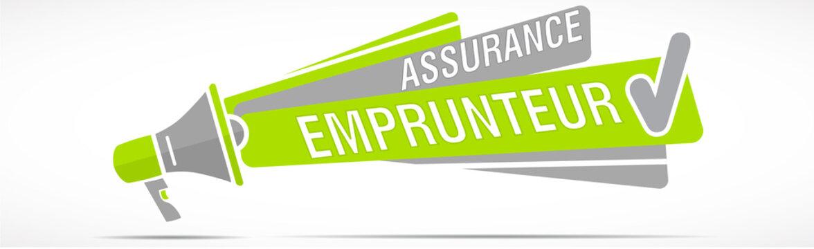 Mégaphone : assurance emprunteur