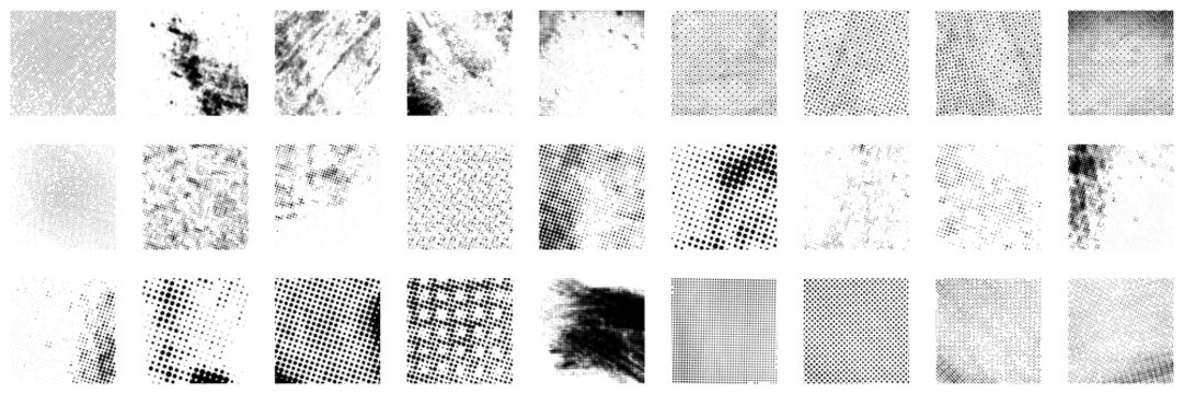 Big Halftone Set