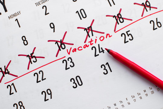 Vacations planning concept
