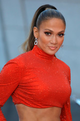 Actress and singer Jennifer Lopez attends the 2019 CFDA Awards where she received the Fashion Icon Award at The Brooklyn Museum in New York