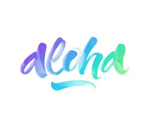 Aloha inspirational quote