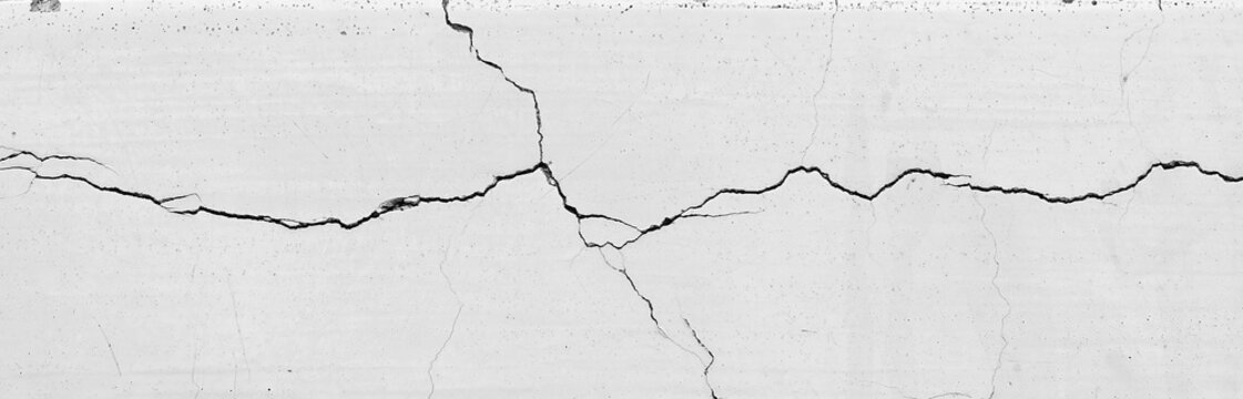crack white wall texture