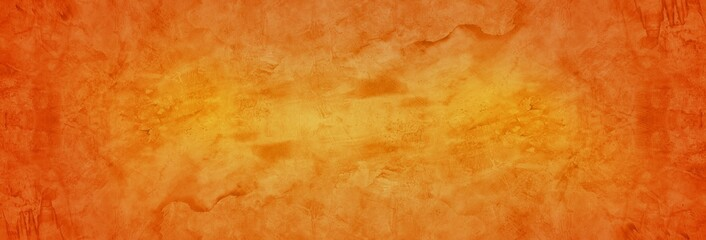orange and red cement wall and grungy texture background