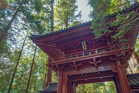 日光二荒山神社 楼門
