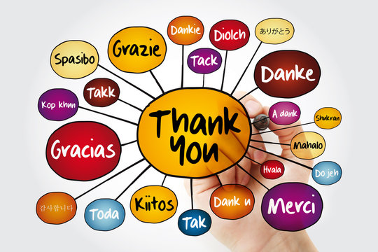 Thank You In Different Languages photos, royalty-free images, graphics,  vectors & videos | Adobe Stock