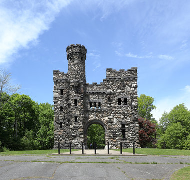 Bancroft Tower in Salisbury Park, Worcester, Massachusetts