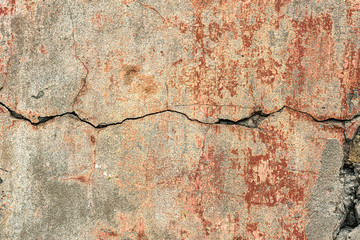 Wall Mural - Crack in the wall