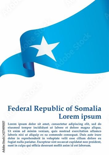 Flag of Somalia, Federal Republic of Somalia  Template for