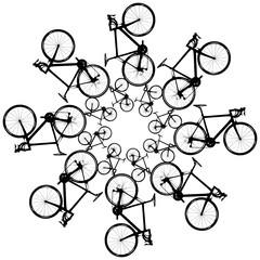 Fahrrad Mandala