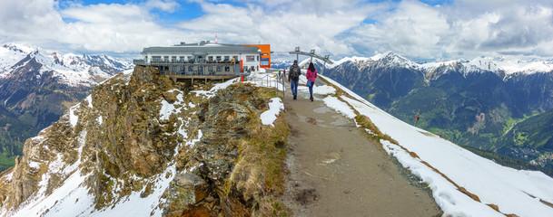 Bergstation auf dem Stubnerkogel im Gasteiner Tal
