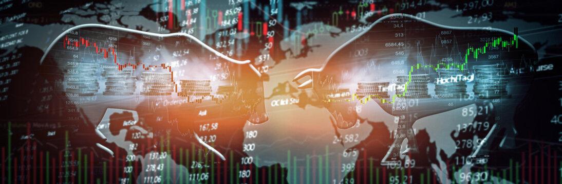 Trading Aktien Chart