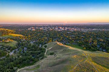 Fototapete - Boise Aerial