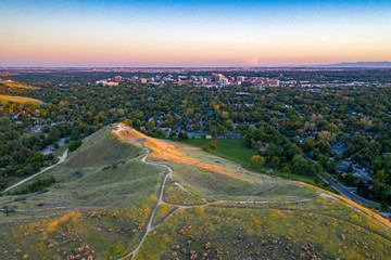Boise Aerial Fotobehang