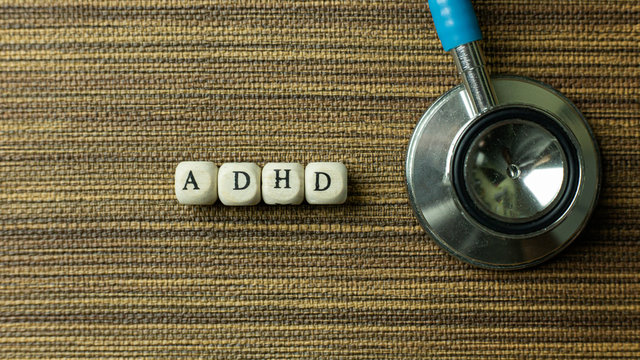 ADHD  for Mental Health Awareness concept.