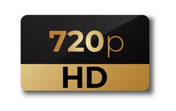 720p hd icon