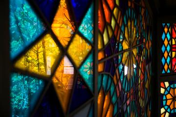 Fototapeta Stained glass window obraz