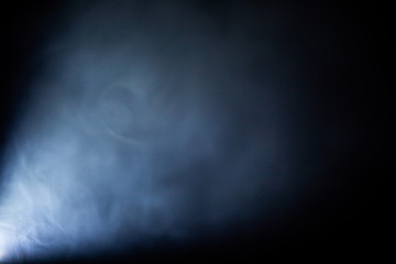 projector lights beam in smoke texture .