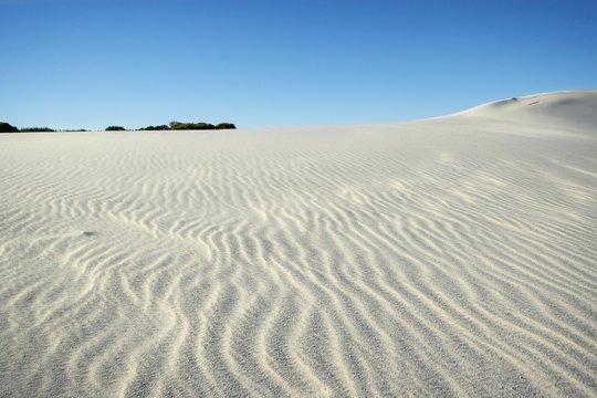 natural snow dunes