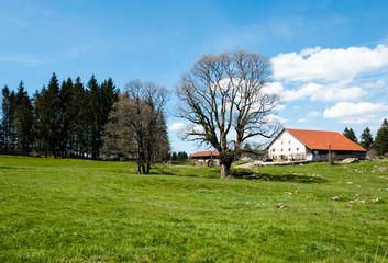 Bauernhof im Jura, Schweiz