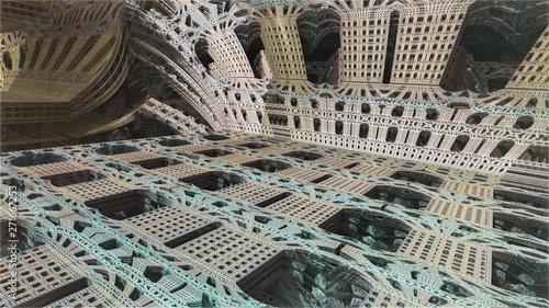 Abstract Computer generated Fractal design  Fractal 3d  An