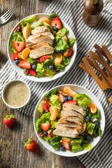 Healthy Homemade Strawberry Poppyseed Salad