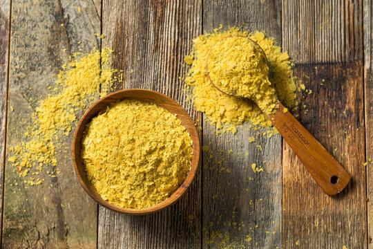 Raw Yellow Organic Nutritional Yeast