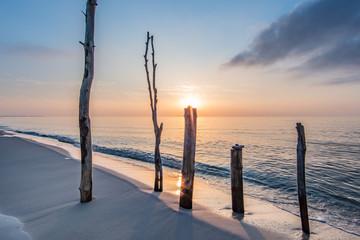strand Fototapete
