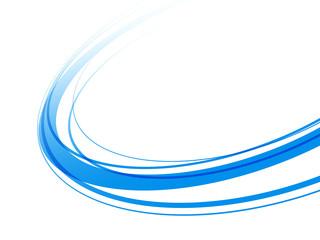 青い曲線 Fototapete