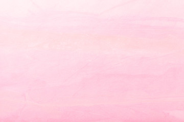 Abstract art background light pink color. Multicolor painting on canvas.