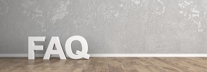 FAQ Überschrift für Homepage