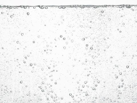 soda water bubbles