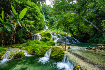 Mele Maat Cascades in Port Vila, Efate Island, Vanuatu, South Pacific