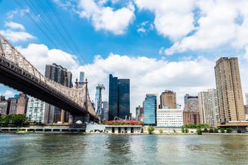Ed Koch Queensboro Bridge in Manhattan, New York City, USA