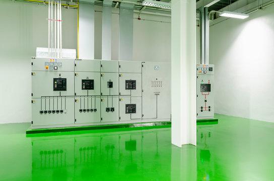 Main Distribution Board  Room , Epoxy green floor