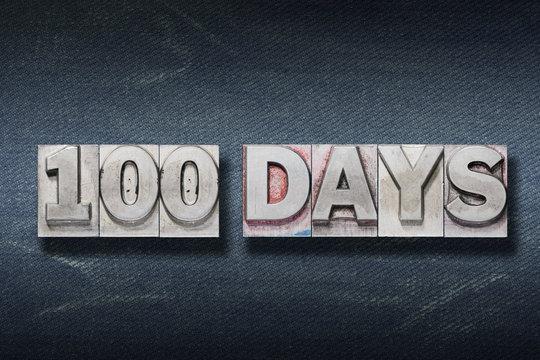 hundred days den