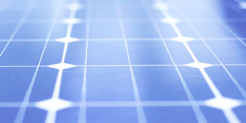Close up of Solar energy panel, photovoltaic panel