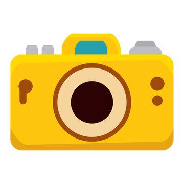 camera photographic summer device icon