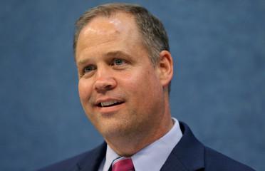 NASA Administrator Jim Bridenstine participates in a press preview event in Washington, U.S.