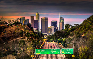 Los Angeles Skyline Wall mural