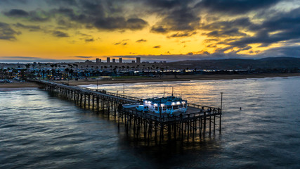Balboa Pier sunrise California