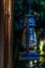 Antique Barn Lamp