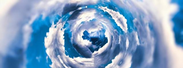 Fototapeta 抽象的な雲の渦