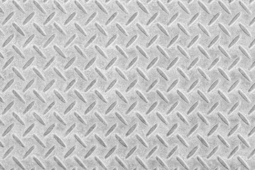 Metal floor plate with diamond pattern and background saemless