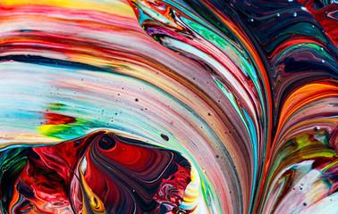 Art of acrylic color Wall mural