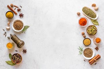 Spices Assortment Fototapete