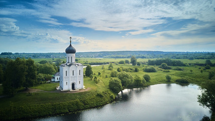 Church of the Intercession on the Nerl, Bogolyubovo, Golden Ring of Russia