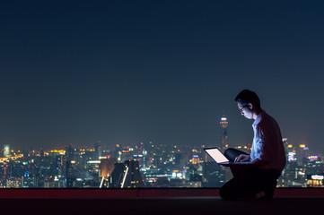 working late night