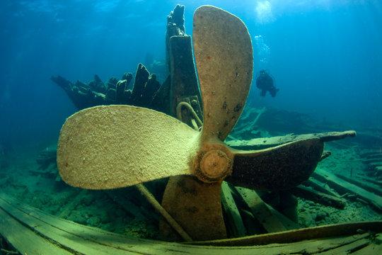 Shipwreck City of Cleveland